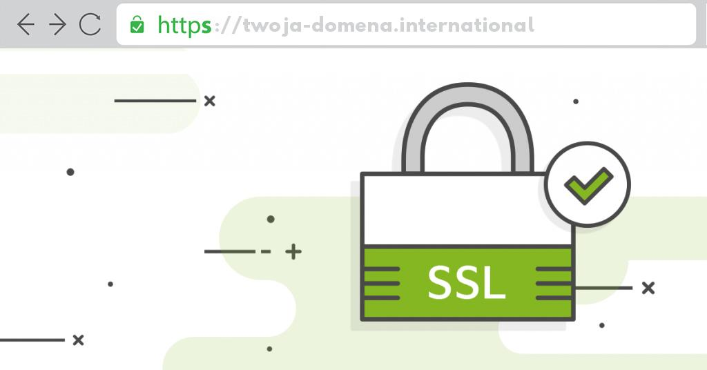 Ssl dla domeny .international