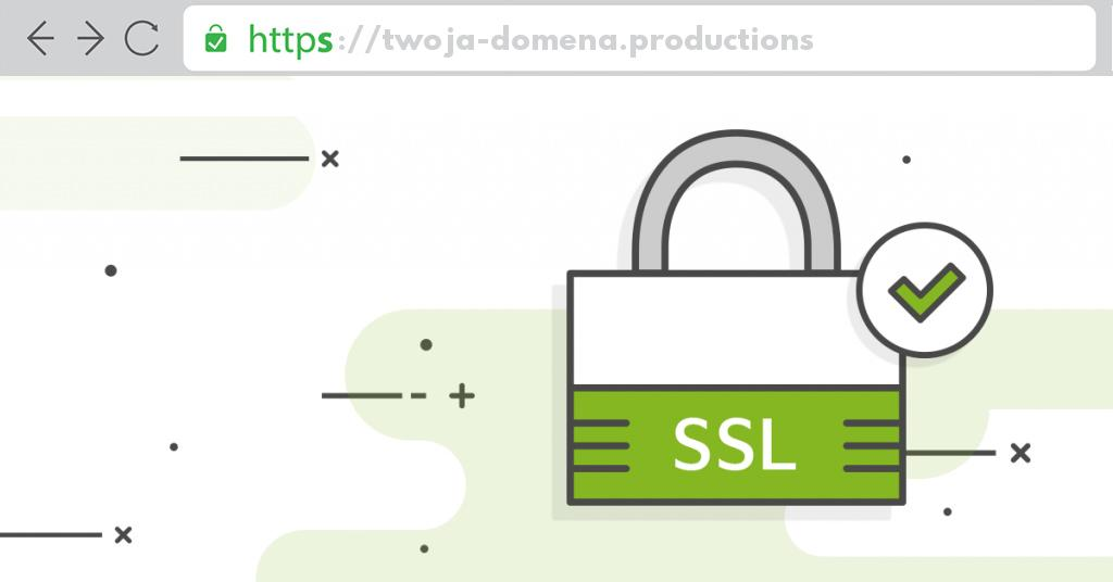 Ssl dla domeny .productions